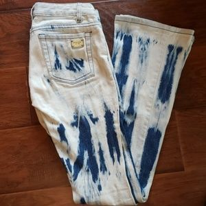 Michael Kors Tye Dye Jeans Low Rise Size 0